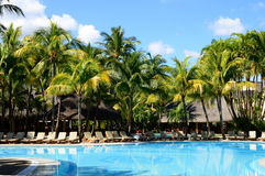 Africa, picturesque area of La Pointe Aux Canonniers in Mauritiu Royalty Free Stock Image