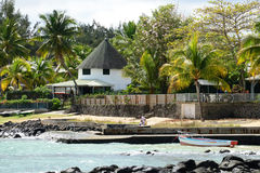Africa, picturesque area of Mont Choisy in Mauritius Royalty Free Stock Photos