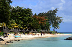 Africa, picturesque area of Mont Choisy in Mauritius Royalty Free Stock Photography