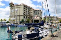 Africa, Port Louis city in Mauritius Island Stock Photos
