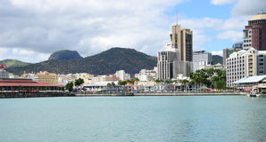 Africa, Port Louis city in Mauritius Island Stock Images