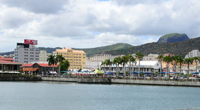 Africa, Port Louis city in Mauritius Island Stock Photography