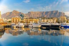 africa przylądka halny południe stołu miasteczko obraz royalty free