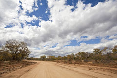 Africa road Royalty Free Stock Photo