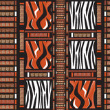 Africa seamless pattern Royalty Free Stock Photography