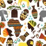 Africa seamless pattern Royalty Free Stock Image