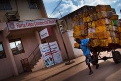 Africa, Sierra Leone, Freetown Stock Image