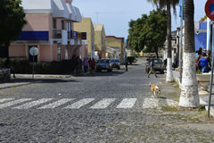 Africa - Small Town of Tarrafal, Santiago Island, Cape Verde Stock Photos