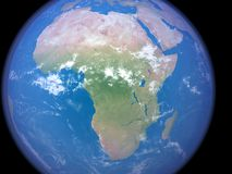 Africa from Space Stock Images