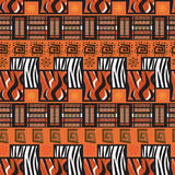 Africa stile ornament background Royalty Free Stock Photos