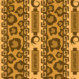Africa stile ornament background Stock Photo