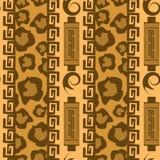 Africa Stile Ornament Background Stock Photo