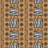 Africa Stile Ornament Background Stock Images