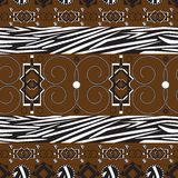 Africa stile ornament background Royalty Free Stock Photo