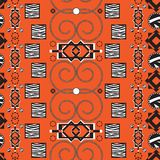Africa stile ornament background Royalty Free Stock Image