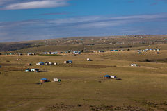 Africa Transkei Landscapes Homes Royalty Free Stock Image