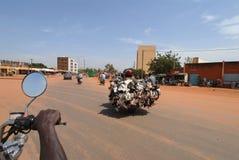 Africa transport Stock Photo