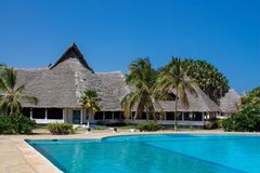 Africa tropical resort Royalty Free Stock Photo