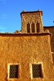 africa w histoycal maroc okno Zdjęcia Stock