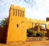 africa w Morocco o ld contruction i dziejowa wioska Obrazy Stock