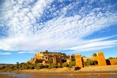 africa w Morocco stara rzeka Zdjęcia Royalty Free