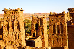 africa w Morocco stary Zdjęcia Royalty Free