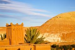 africa w Morocco stary contruction drzewo Zdjęcia Stock