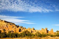 africa w Morocco stary contruction i Obraz Royalty Free