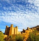 africa w Morocco starym contruction i dziejowej wiosce Obrazy Stock