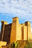 africa w Morocco starym contruction wiosce i Zdjęcie Royalty Free