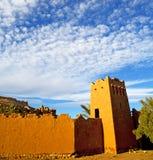 africa w Morocco th e starym contruction i dziejowej wiosce Zdjęcie Royalty Free