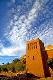 africa wewnątrz błękit chmurny i Zdjęcie Royalty Free