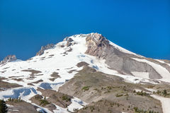 africa wysokiej horyzontalnej kilimanjaro klilimanjaro góry mt dachowy odgórny widok kapiszon Obraz Stock