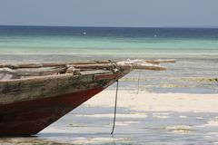 Africa Zanzibar island landscape Royalty Free Stock Photos