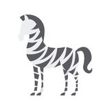 Africa zebra design Royalty Free Stock Photo