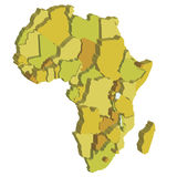 Africa2 Fotografia de Stock Royalty Free