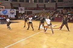 AFRICAIN篮球联盟 库存照片