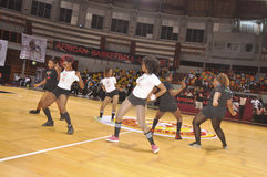 AFRICAIN篮球联盟 库存图片