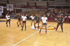 AFRICAIN koszykówki liga Zdjęcia Stock