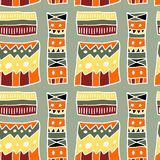 African aboriginal pattern Stock Image