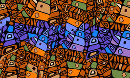 African abstraction Royalty Free Stock Photography