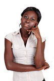African Amercian businesswoman Stock Image
