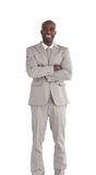 African America Business man Isolated Stock Photos