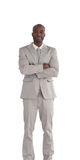 African America Business man Isolated Stock Images