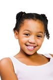 African America girl standing Stock Images
