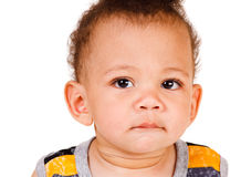 African American baby Stock Images