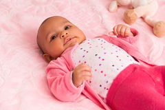 African american baby girl - Black people Royalty Free Stock Photography
