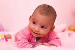 African american baby girl - Black people Stock Photography