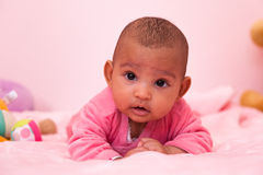 African american baby girl - Black people Royalty Free Stock Photo