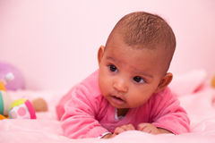 African american baby girl - Black people Stock Photo